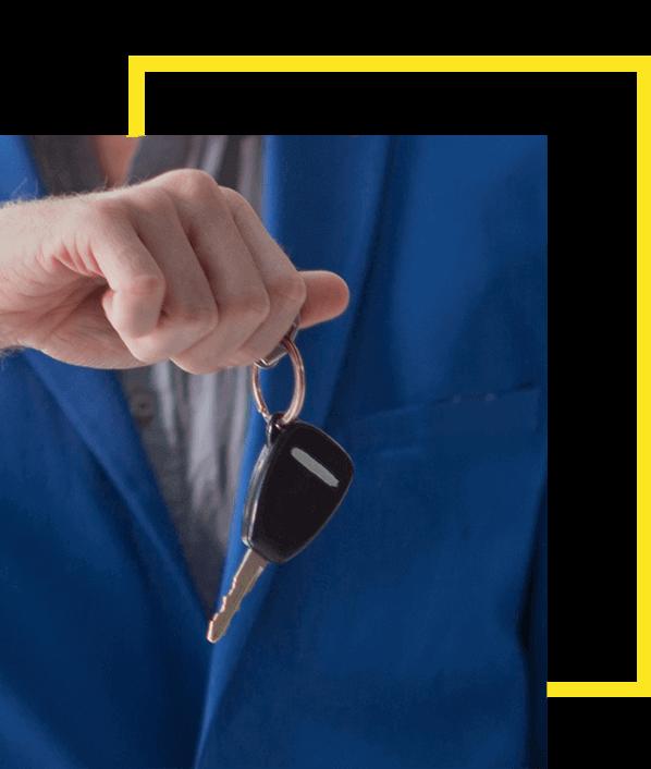 car-key-yellow